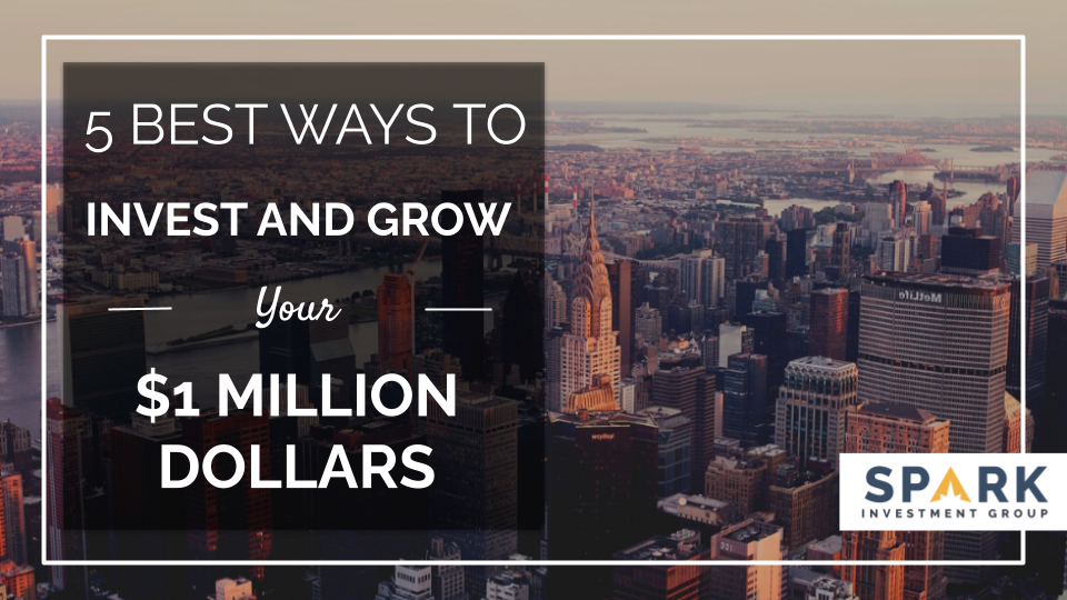 5 Best Ways To Invest And Grow Your $1 Million Dollars